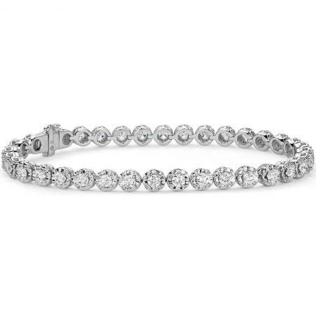 3ct Diamond Bracelet