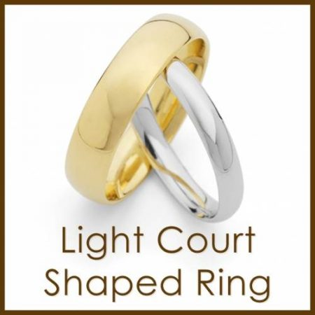 Light Court Shaped Ring