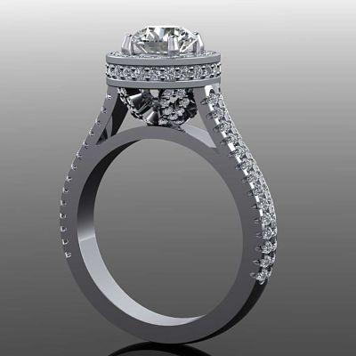 Bercotts Bespoke Engagement Ring