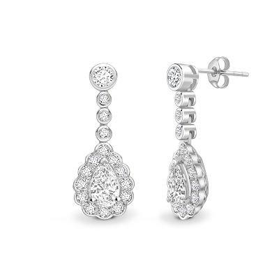 Bespoke Diamond Earings