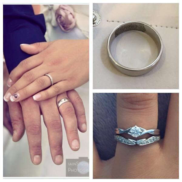 Bespoke Engagement Wedding Rings