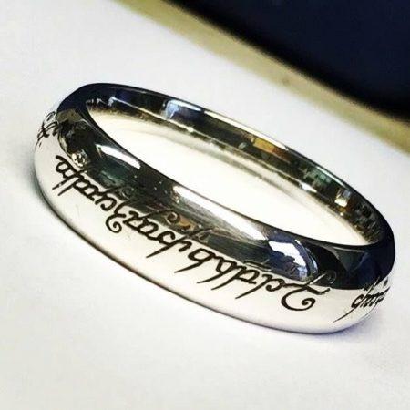 Bespoke Engraving Ring