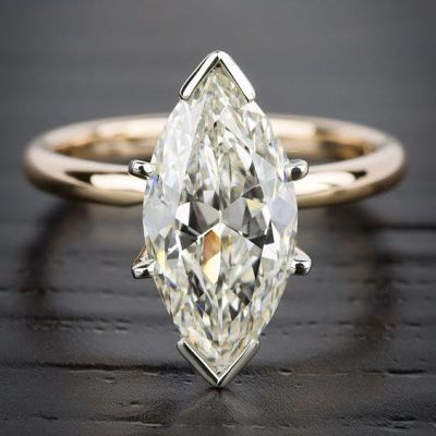 Bespoke Gold Diamond Solitaire Ring