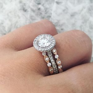 Bespoke Halo Ring