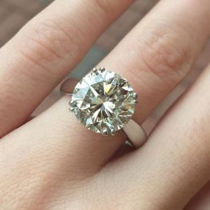 Bespoke Solitaire Ring