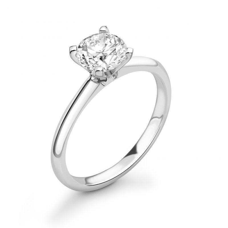 Clara Brilliant Cut Diamond Engagement Ring 0.33cts