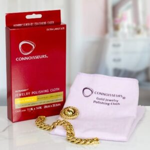 Connoisseurs Gold and Precious Jewellery Polishing Cloth