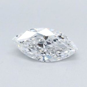 Marquise Cut Diamond Solitaire Engagement Ring 0.50cts