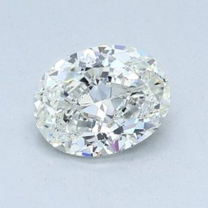 Oval Cut Diamond Solitaire Engagement Ring 1.02cts