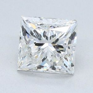 Princess Cut Diamond Halo Engagement Ring 2.17cts