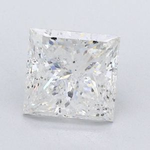 Princess Cut Diamond Halo Engagement Ring 3.43cts