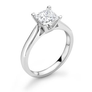 Princess Cut Diamond Engagement Ring 1.51cts