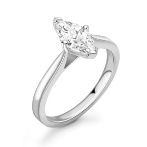 Marquise Diamond Solitaire Engagement Ring 1.00cts