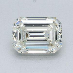 Emerald Cut Diamond Engagement Ring 1.50cts