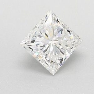 Princess Cut Diamond Solitaire Engagement Ring 1.33cts