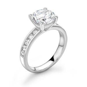 Round Brilliant Cut Diamond Ring 4.76cts