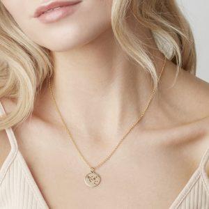 Sagittarius Star Sign Necklace Silver