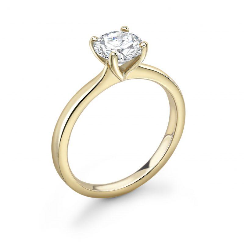 Clara Brilliant Cut Diamond Engagement Ring 0.90ct
