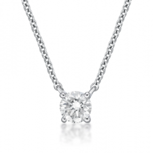 Round Brilliant Cut Diamond Pendant 0.25cts