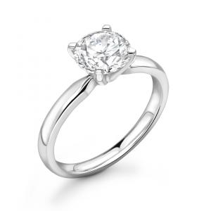 Round Brilliant Cut Diamond Solitaire Ring 3.00cts