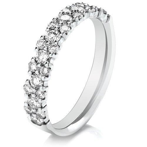 Brilliant Cut Diamond Eternity Ring 0.75cts