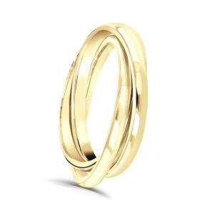 Russian Style Ladies Wedding Ring