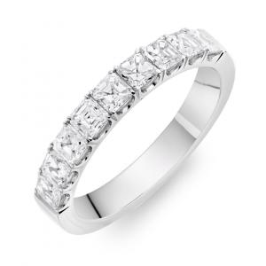 Asscher Cut Diamond Claw Set Ring 1.08cts