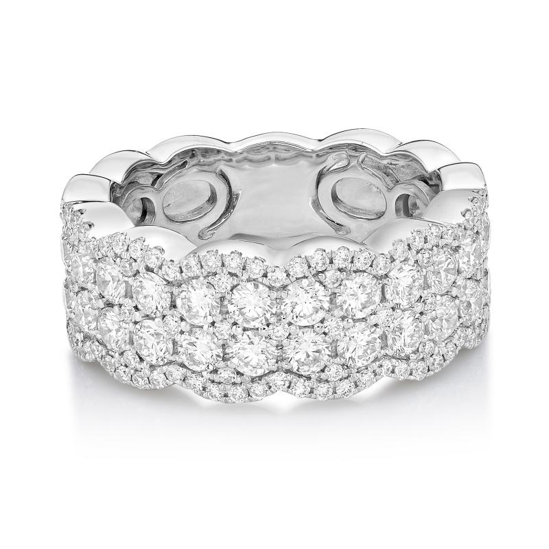 18ct White Gold Diamond Dress Ring 1.75cts